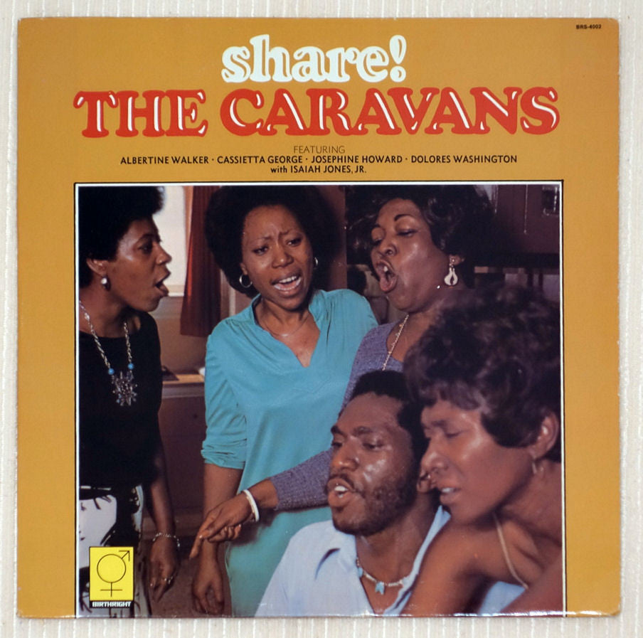 The Caravans Share! Front Cover Vinyl Record