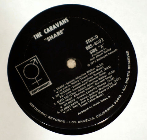 The Caravans Share! Label Vinyl Record