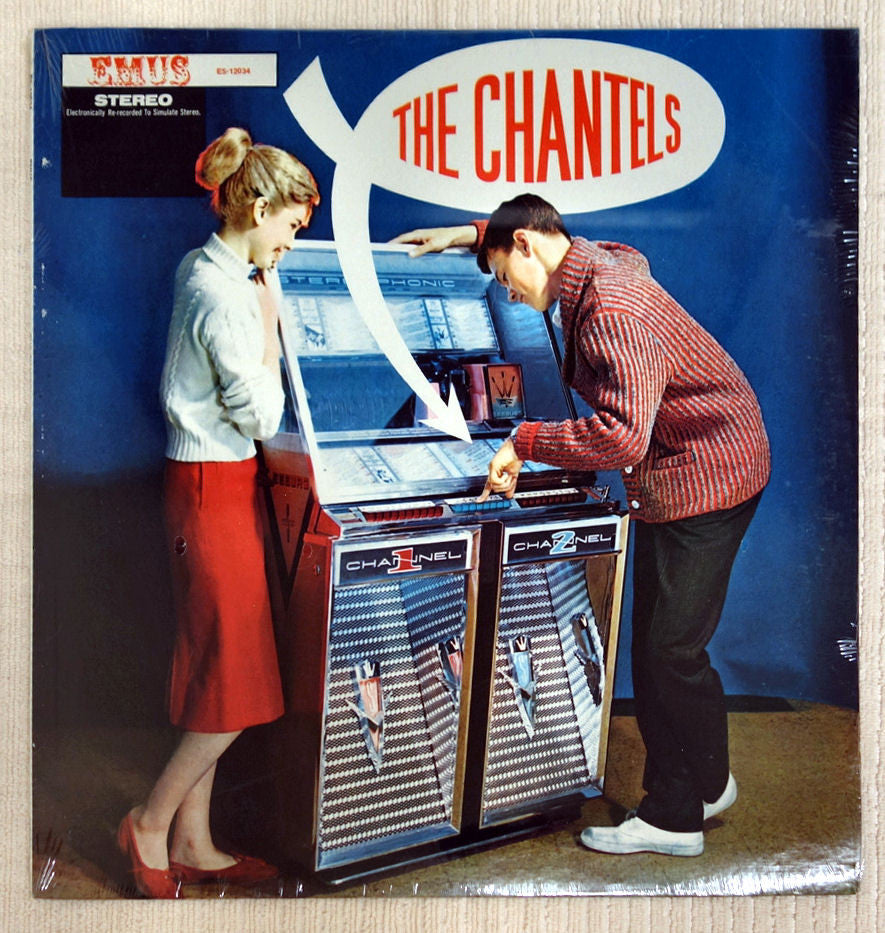 Front album cover for The Chantels record