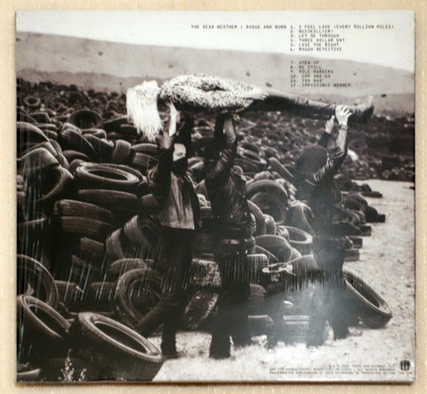 The Dead Weather ‎– Dodge And Burn - Vault 25 Limited Edition - Back Cover