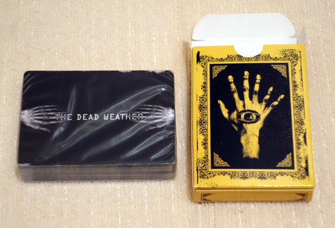 The Dead Weather - Limited Edition Playing Cards - Front Side of Cards