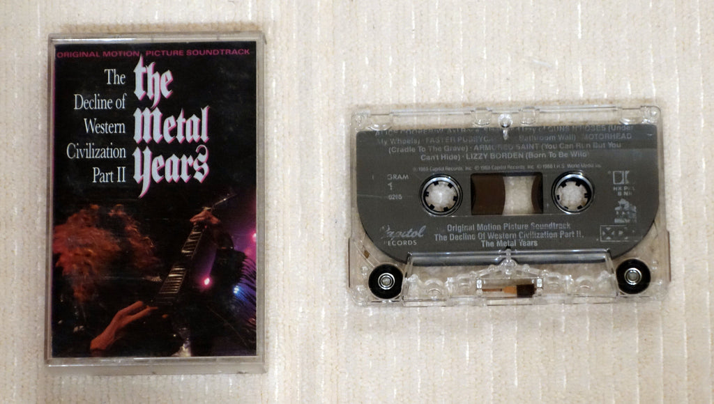 Various - The Decline Of Western Civilization Part II The Metal Years - Cassette