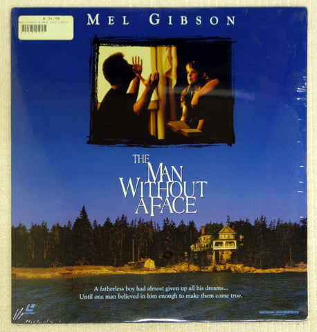 The Man Without A Face laser disc front cover.