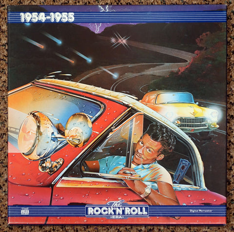 The Rock 'N' Roll Era 1954-1955 - Front Cover - Vinyl Record Box Set