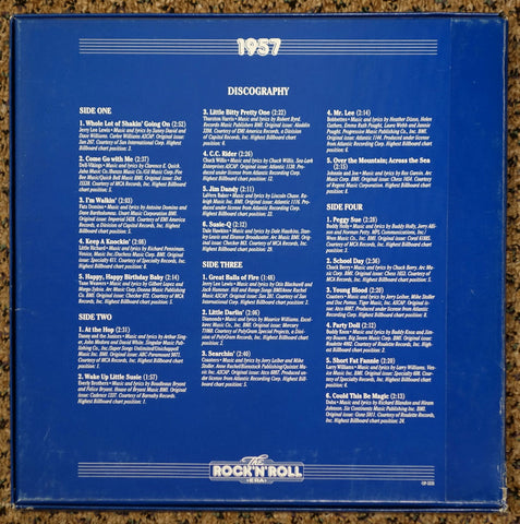 The Rock 'N' Roll Era 1957 - Back Cover - Vinyl Record Box Set