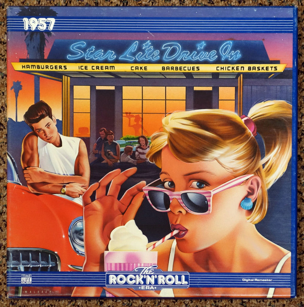 The Rock 'N' Roll Era 1957 - Front Cover - Vinyl Record Box Set