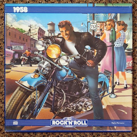 The Rock 'N' Roll Era 1958 - Front Cover - Vinyl Record Box Set