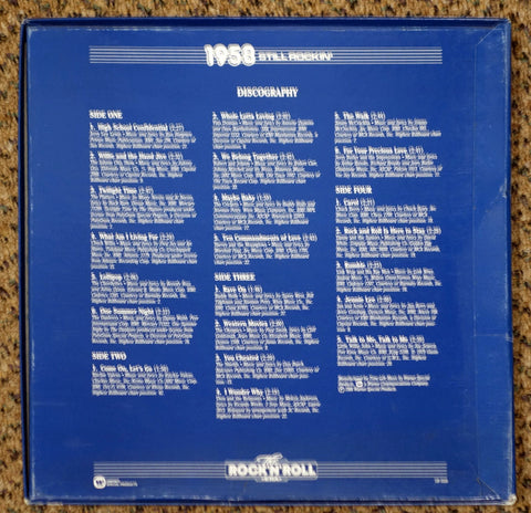 The Rock 'N' Roll Era 1958 Still Rockin' - Back Cover - Vinyl Record Box Set