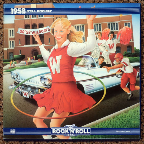 The Rock 'N' Roll Era 1958 Still Rockin' - Front Cover - Vinyl Record Box Set