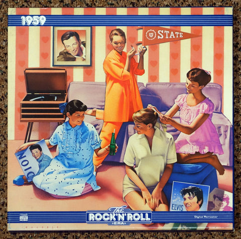 The Rock 'N' Roll Era 1959 - Front Cover - Vinyl Record Box Set