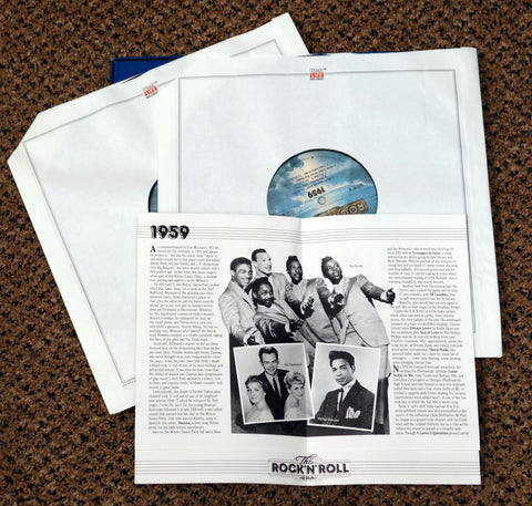 The Rock 'N' Roll Era 1959 - Vinyl Record Box Set