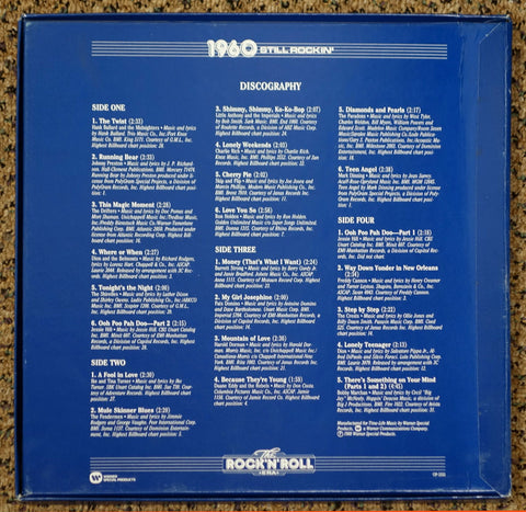 The Rock 'N' Roll Era 1960 Still Rockin' - Back Cover - Vinyl Recod Box Set