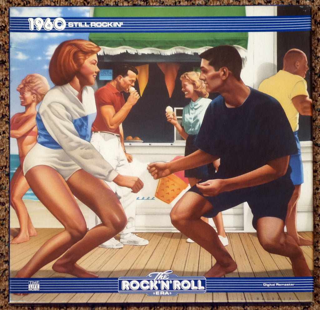 The Rock 'N' Roll Era 1960 Still Rockin' - Front Cover - Vinyl Recod Box Set