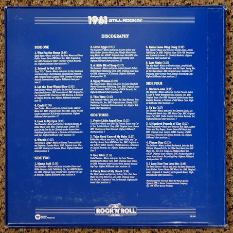 The Rock 'N' Roll Era 1961 Still Rockin' - Back Cover - Vinyl Record Box Set