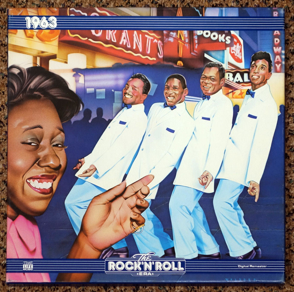 The Rock 'N' Roll Era 1963 - Front Cover - Vinyl Record Box Set