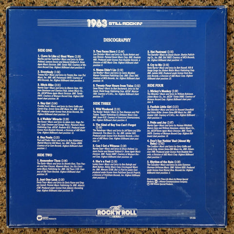 The Rock 'N' Roll Era 1963 Still Rockin' - Back Cover - Vinyl Record Box Set