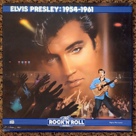 The Rock 'N' Roll Era Elvis Presley 1954-1961 - Front Cover - Vinyl Record Box Set