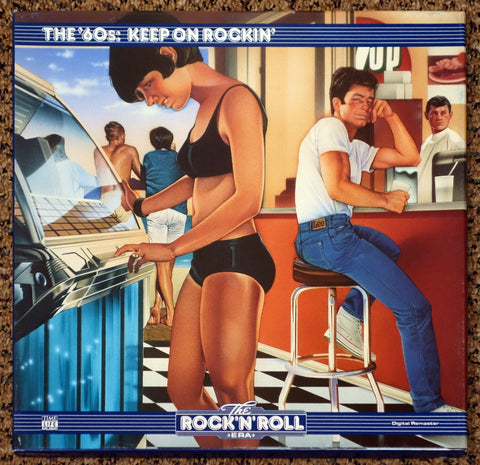 The Rock 'N' Roll Era The '60s Keep On Rockin' - Front Cover - Vinyl Record Box Set