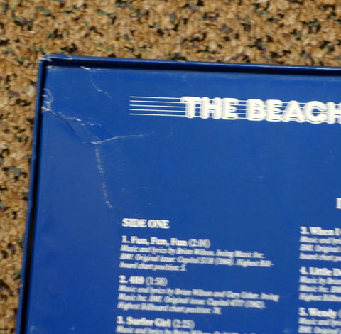 The Rock 'N' Roll Era The Beach Boys 1962-1967 - Back Cover Crease - Vinyl Record Box Set