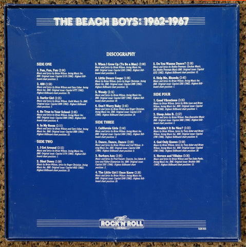 The Rock 'N' Roll Era The Beach Boys 1962-1967 - Back Cover - Vinyl Record Box Set