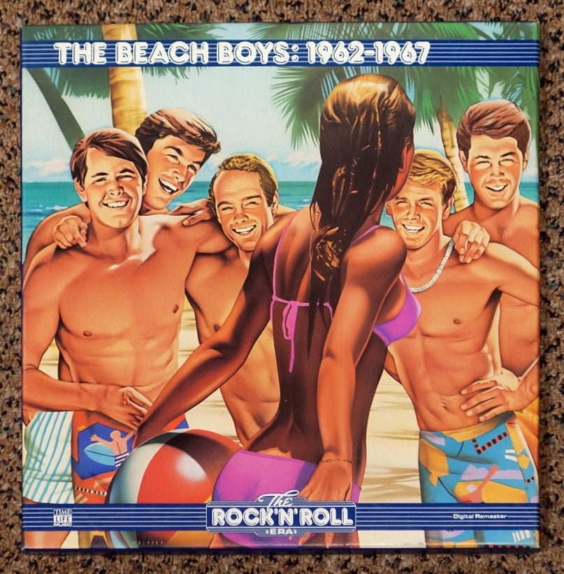 The Rock 'N' Roll Era The Beach Boys 1962-1967 - Front Cover - Vinyl Record Box Set