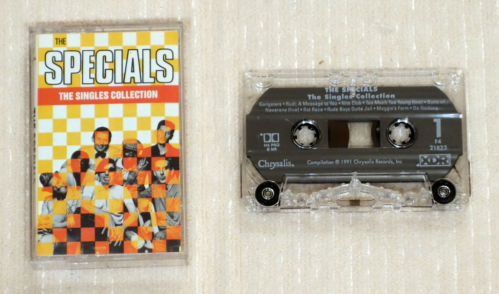 The Specials ‎– The Singles Collection - Cassette