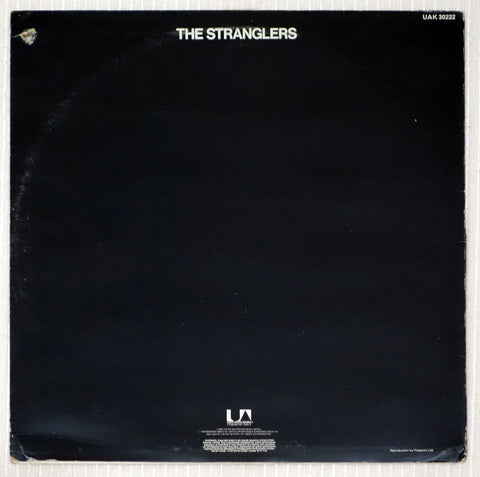 The Stranglers ‎– Black And White - Back Cover - Vinyl Record