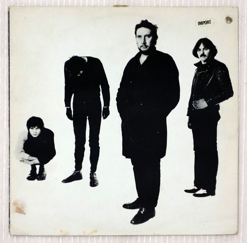The Stranglers ‎– Black And White - Front Cover - Vinyl Record