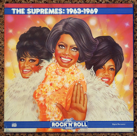 The Supremes ‎– The Rock 'N' Roll Era The Supremes 1963-1969 - Front Cover - Vinyl Record Box Set