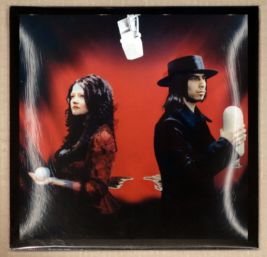 The White Stripes ‎– Get Behind Me Satan - Front Cover - Vinyl Record - Record Store Day Limited Edition
