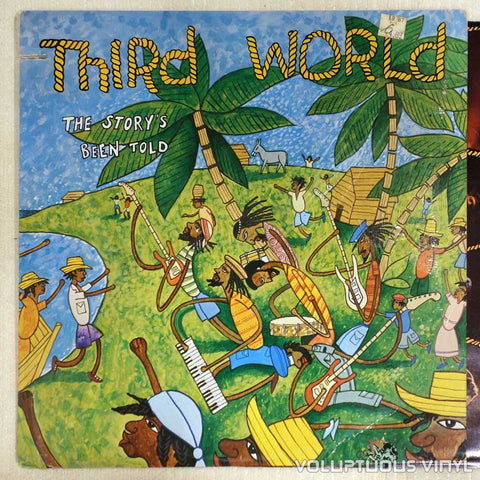 Third World ‎– The Story's Been Told - Vinyl Record