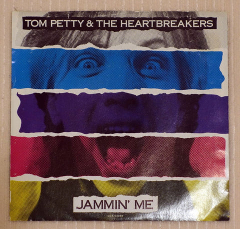 Tom Petty And The Heartbreakers ‎– Jammin' Me (1987) Promo