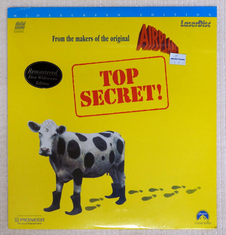 Top Secret Laserdisc - Front Cover