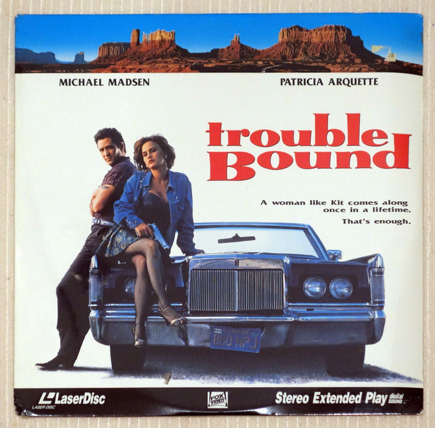 Trouble Bound - Front Cover - Laserdisc