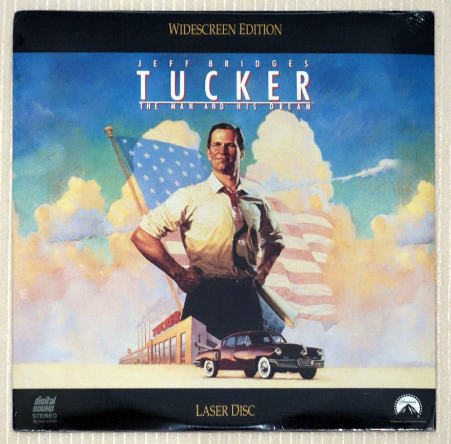 Tucker The Man and His Dream - Front Cover - Laserdisc