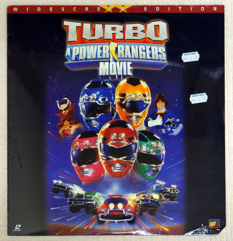 Turbo A Power Rangers Movie - Front Cover
