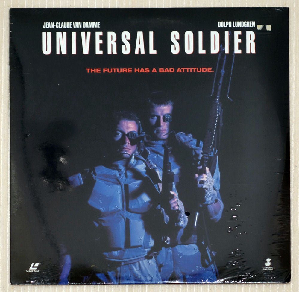 Universal Soldier - Front Cover - Laserdisc