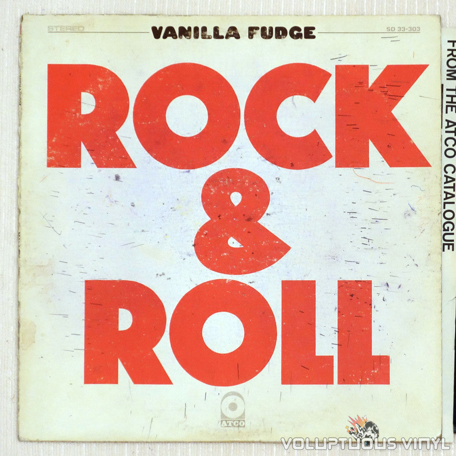 Vanilla Fudge ‎– Rock & Roll - Vinyl Record