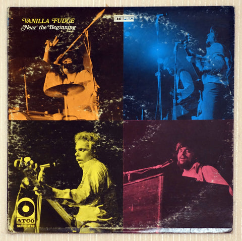 Vanilla Fudge ‎– Near The Beginning - Front Cover - Vinyl Record
