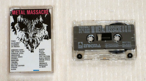 Various ‎– Metal Massacre II & III (1983)