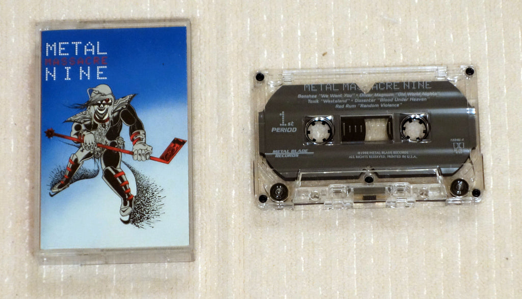 Various ‎– Metal Massacre Nine - Cassette