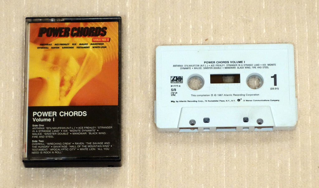 Various ‎– Power Chords (Volume 1) - Cassette