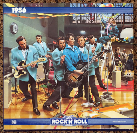 The Rock 'N' Roll Era: 1956 - Front Cover - Vinyl Record Box Set