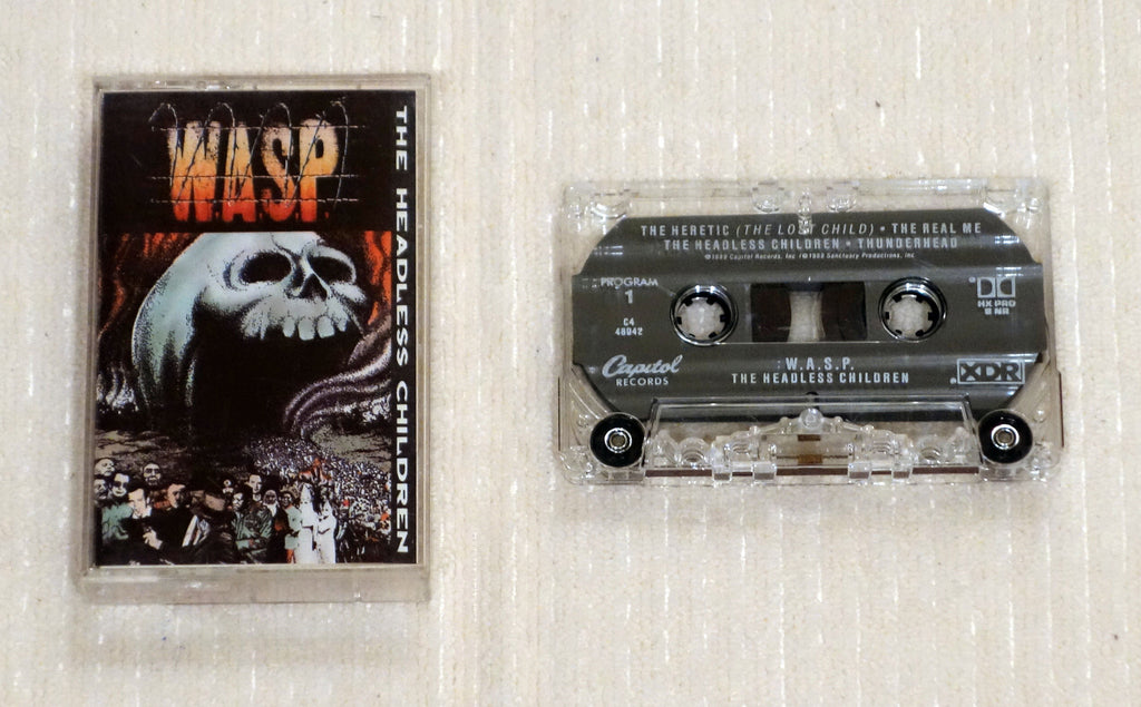 W.A.S.P. ‎– The Headless Children - Cassette