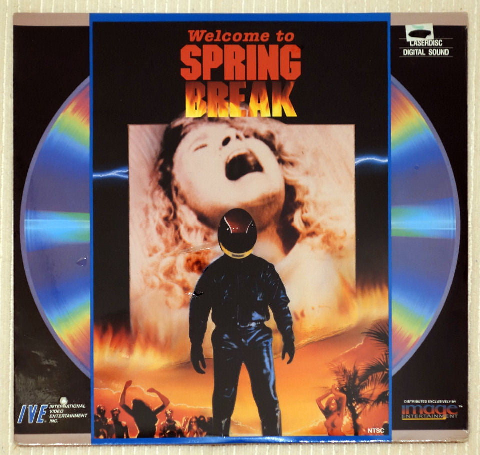 Welcome to Spring Break (Nightmare Beach) - Front Cover - Laserdisc