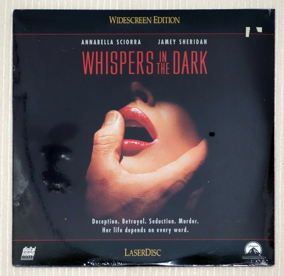 Whispers in the Dark - Front Cover - Laserdisc