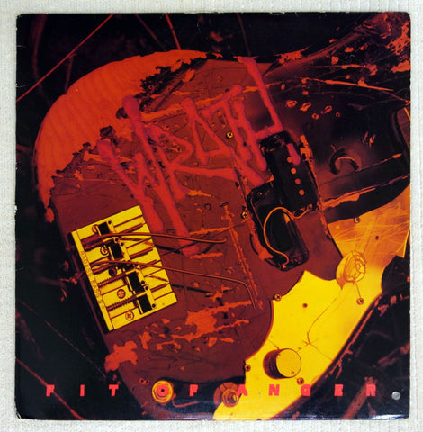 Wrath Fit Of Anger vinyl record front cover.