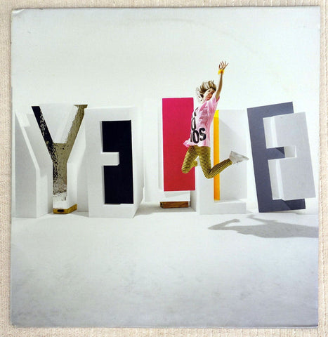 Yelle Pop Up vinyl record french pop front cover.