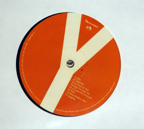 Yelle Pop Up vinyl record french pop vinyl label.