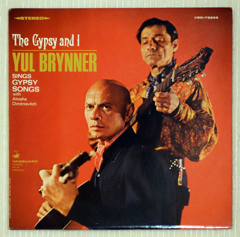 Yul Brynner with Aliosha Dimitrievitch ‎– The Gypsy And I - Front Cover - Vinyl Record
